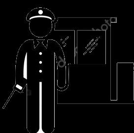 Охранник вахта
